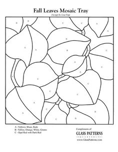 ★ Stained Glass Patterns for FREE ★ glass pattern 198 ★