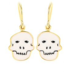 house of waris skull earrings