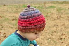 This is the ultimate gift hat, the simple pattern is perfectly unisex while the combination of vertical and horizontal stripes make it very forgiving in terms of fit.