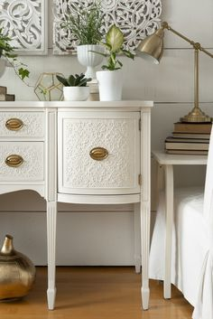 How to stencil furniture with Fresco and Fusion Mineral Paint