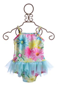 Kate Mack Dipped in Daisies Baby Girls Tankini Designer Baby Clothes, Best Swimsuits, Cool Baby Stuff, My Girl, Bathing Suits, Tankini, Kids Outfits, Kids Fashion, Daisy