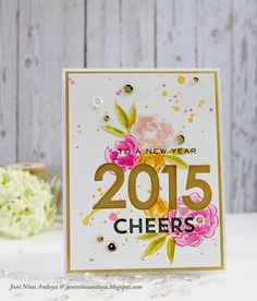 Stamp Away With Me: Cheers To A New Year