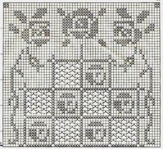 Kira scheme crochet: Scheme crochet no. 1157