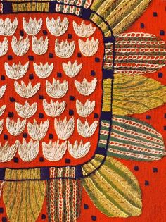 inspiration365days:    Vintage Swedish embroidery … pattern, please.  http://gladucouldmakeit.blogspot.co.uk/?m=1