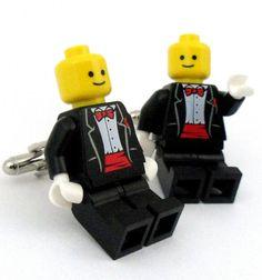 Full tux Lego groom.