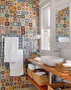 Dicas para decorar banheiros pequenos