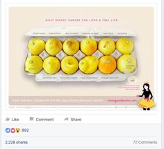 How Lemons Are Helping Women Fight Breast Cancer An image of lemons circulating on social media is helping women detect signs of breast cancer.