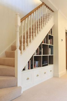 Awesome Cool Ideas To Make Storage Under Stairs 41
