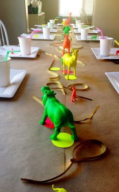 Neon animal party. Exactly what I was thinking but not neon.