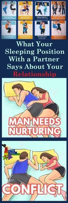 What Your Sleeping Position with Your Partner Say About Your Relationship