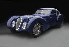 "1937 Talbot-Lago T150-C-SS ""Teardrop"" Coupe2"