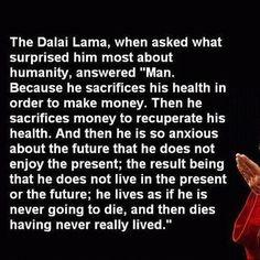 Dalai Lama Very Proufound