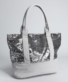 Sequin with Burlap or leather bottom & straps
