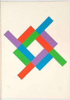 Max Bill, Rhythmus um ein weißes Quadrat (1985), Farbserigraphie auf Bütten 39,0 × 39,0 cm, signiert und datiert, nummeriert »37/50«. Blattgröße: 59,5 x 42,0 cm. Vereinzelt Blattdellen. Mit dem Prägestempel »WK« in der linken unteren Ecke. Doebele 05/2015, Schätzpreis EUR 350,00,
