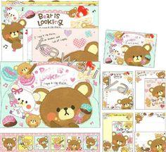 CRUX *Bear Is Looking* Letter Set #2