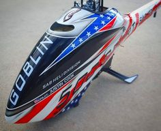 (Picture by Justin Cook) by sab_goblin Justin Cook, Canopy Design, Rc Helicopter, Radio Control, Helicopters, Goblin, Airplanes, Aircraft, Cooking