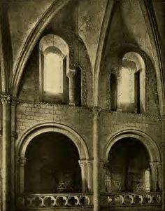 Saint Etienne de Caen, Tribunes de la nef