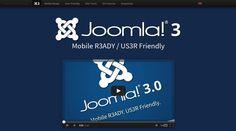Responsive web design: http://www.joomla.org/3/en