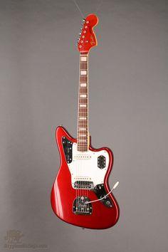 1966 Fender Jaguar Candy Apple Red