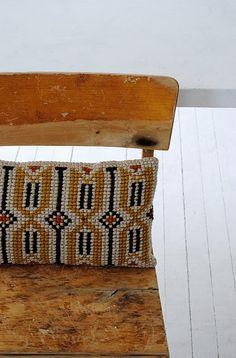 Lovely cross stich cushion