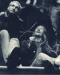 Layne Stayley And Jerry Cantrell of Alice In Chains