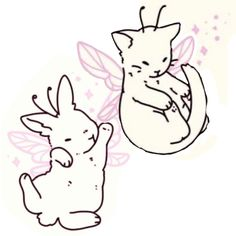 Cute Tats, Cute Tiny Tattoos, Pretty Tattoos, Small Tattoos, Cool Tattoos, Cute Little Drawings, Cute Drawings, Beste Freundin Tattoo, Kawaii Tattoo