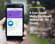 Check out our new Mobile platform. Now you can post to your social pages on the go - Social Media Pages, Social Media Marketing, New Mobile, Platform, Check