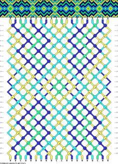 Muster # 53471, Streicher: 20 Zeilen: 26 Farben: 4