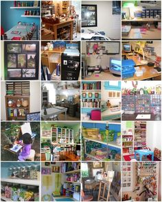 fun and colorful snapshots of studios