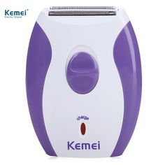 Kemei Portable 100-240V Women Electric Shaver Hair Removal Hair Clipper Epilator Bikini Shaving Machine Razor Depilation Remover