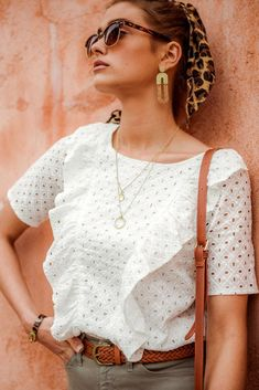 Alphie Eyelet Top – böhme Eyelet Top, Eyelet Lace, Blouse Models, Minimal Chic, African Dress, Final Sale, Blouse Designs, Summer Outfits, Hair Beauty