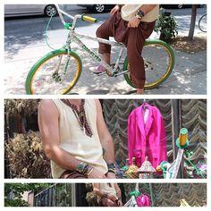 JayKos Style Mott street bike ride , Top Sold Out , Pants Morocco Inspired $150 - @jaykosnyc- #webstagram