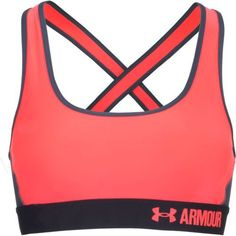 Under Armour Women's Mid Crossback Sports Bra (Red, Size Large) - Women's Athletic Apparel, Women's Workout Bras at Academy Sports