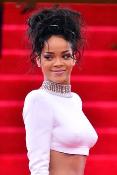Rihanna's beauty evolution in her 50 best looks.