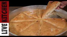 Αφράτη Τυρόπιτα στο Τσακ Μπαμ!(Συνταγή Φούρνου) Fluffy Greek Cheese Pie(... Greek Cheese, Kitchen Living, Food And Drink, Bread, Snacks, Cooking, Breakfast, Desserts, Feta