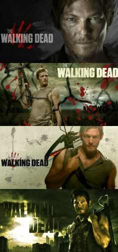 Daryl Dixon // Norman Reedus // The Walking Dead