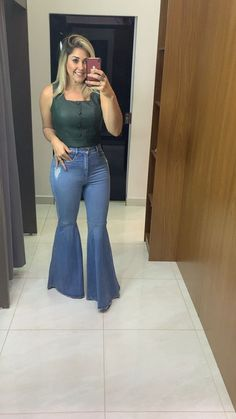 Wide Leg Trousers, Wide Leg Jeans, Denim Jeans, Bell Bottom Pants, Bell Bottoms, Palazzo, Flare Jeans, Women Wear, Legs