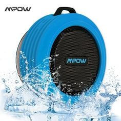Outdoor Portable Wireless Bluetooth Speaker Waterproof built-in Mic