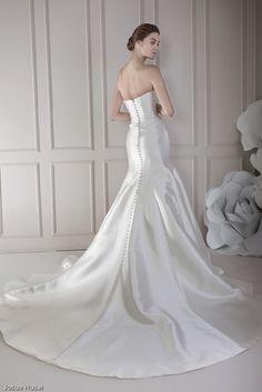 Vestido de Novia GABY espalda.  #SoyInnovia