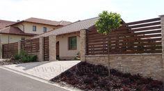 Fence Design, Garden Design, House Made, Front Yard Landscaping, Ideas Para, Gate, House Plans, Backyard, Exterior