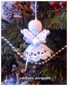 Hawwa57 - Szydełkowe dzergadła: Malutki aniołek krok po kroku Crochet Angel Pattern, Crochet Angels, Crochet Patterns, Christmas Crafts, Christmas Decorations, Christmas Ornaments, Holiday Decor, Angel Crafts, Projects To Try