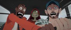 Très sympa à regarder et écouter le dernier clip du groupe SKIP THE USE animé par l'auteur de la BD zombillenium