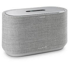 The speaker is Chromecast and Bluetooth-enabled, and can be pre-ordered in September for Home Speakers, Bluetooth Speakers, Radios, Smartphone, Harman Kardon, Speaker Design, Internet Radio, Security Camera