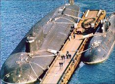The Pacific Fleet Submarines - English Russia Underwater Crafts, Soviet Navy, Russian Submarine, Nuclear Submarine, Yellow Submarine, Navy Ships, Submarines, Aircraft Carrier, War Machine