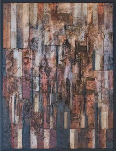 Tanya Bonello, Cubist rectangle homage, 600x450mm, gypsum and oil on board, 2012