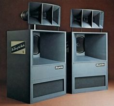 ALTEC LANSING A5 system - 1975, Woofer 515B, Driver 288-16G and Horn 311-90