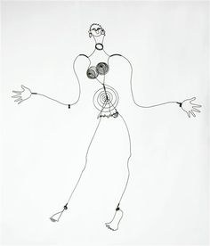 Alexander Calder, Josephine Baker IV, 1928, Wire, National Museum of Modern Art - Georges Pompidou Center, Paris