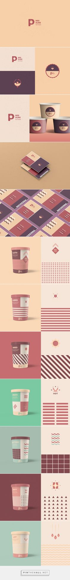 Pressure Ice Cream (Concept) - Packaging of the World - Creative Package Design Gallery - http://www.packagingoftheworld.com/2016/10/pressure-ice-cream-concept.html
