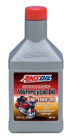 AMSOIL 10w-30 Motorcycle Oil - Click On Picture -