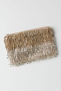 fringed clutch | anthropologie